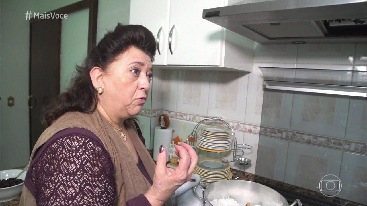 Torta de Coco com Ovos Moles é da Dona Rosa