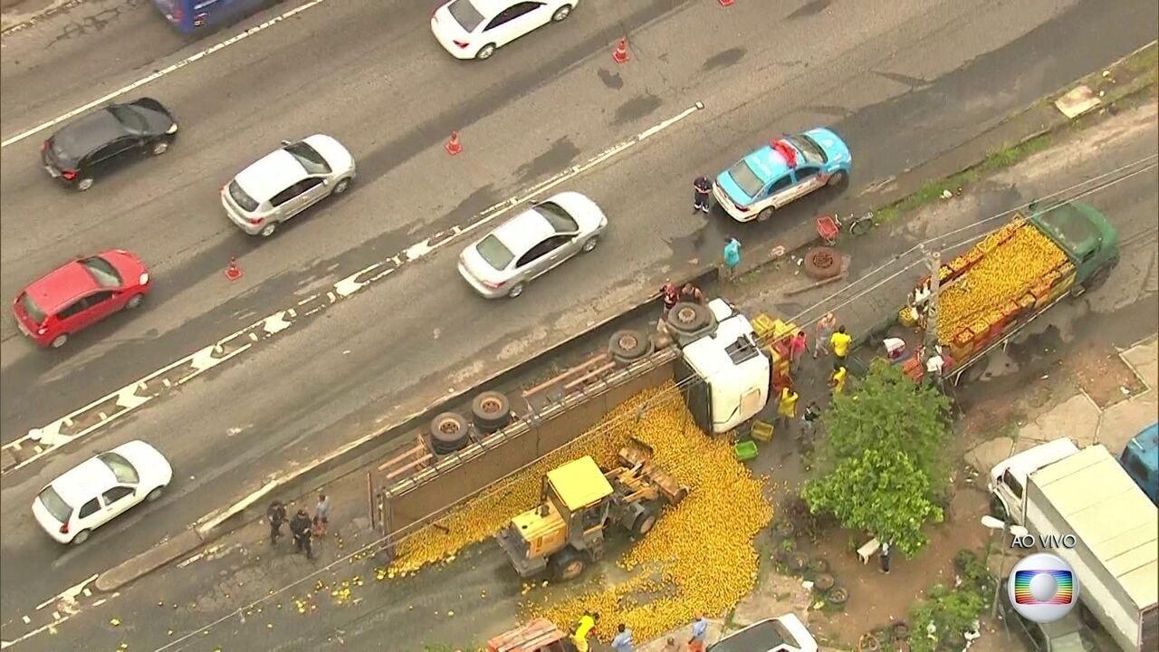 Dois feridos em grave acidente na Avenida Brasil têm alta hospitalar