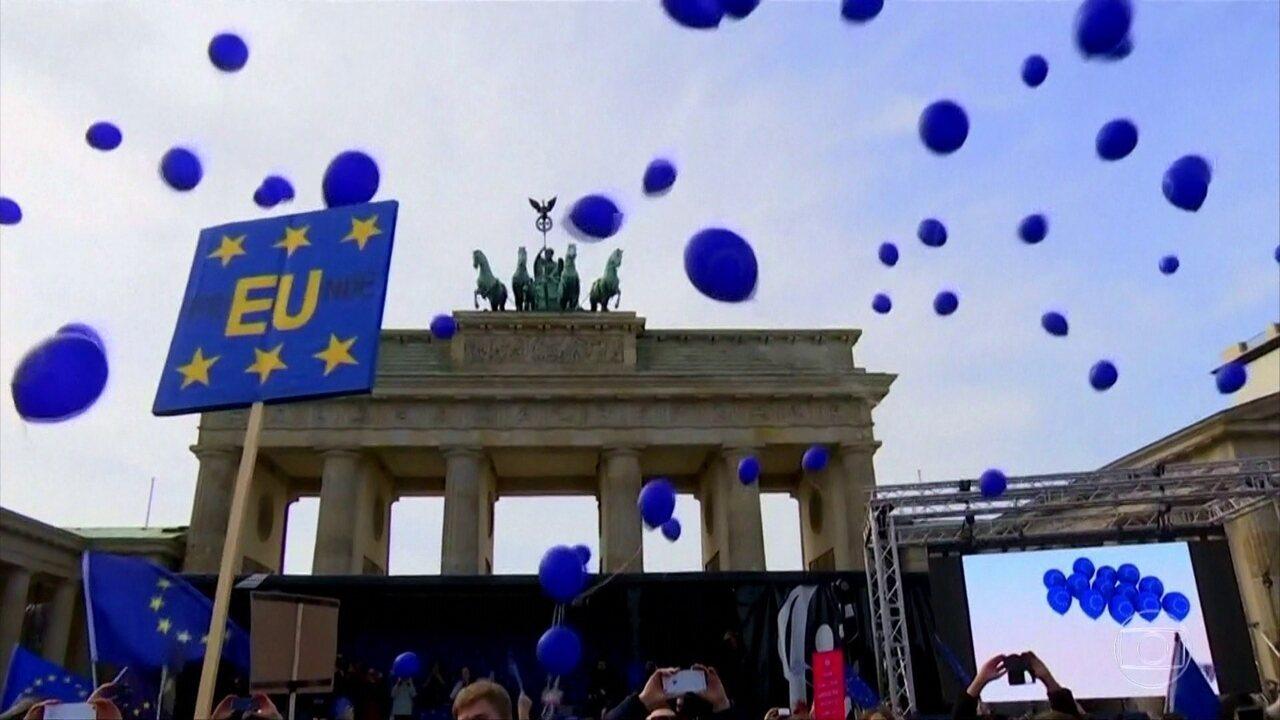Sem medo de enfrentar ameaças e extremistas, uma nova Europa nasce em 2017