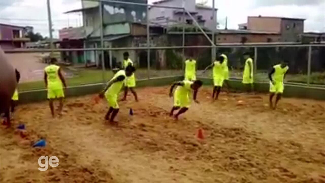 Plácido de Castro intensifica parte física visando temporada 2018
