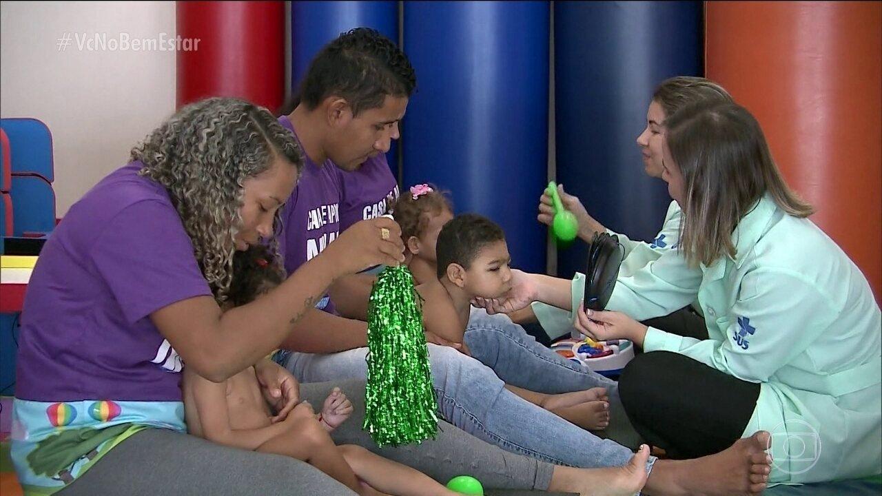 Projeto ajuda famílias com crianças com microcefalia em São Luís (MA)