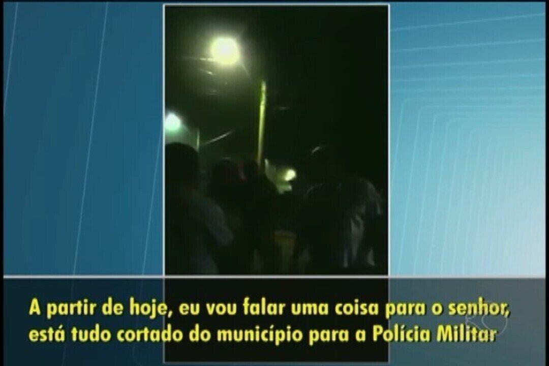 Vídeos mostram prefeita de Estrela do Sul ameaçando policiais militares em MG