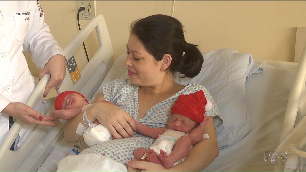 Em Curitiba, gêmeos nascem em anos diferentes