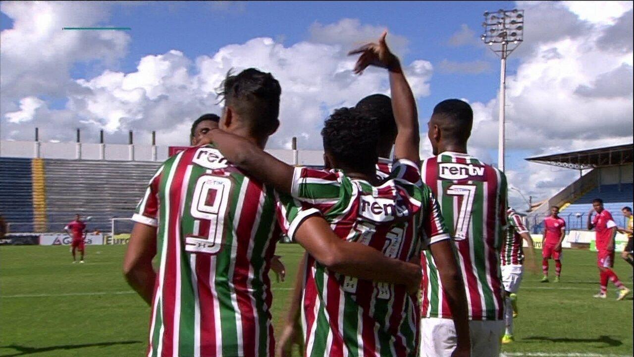 46655f4fdc Os melhores momentos de Fluminense 3 x 0 Mogi Mirim pela Copa São Paulo de  Futebol