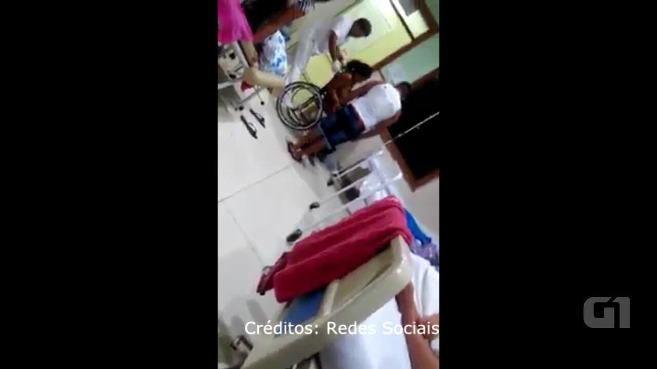 Bebe caiu em chão de maternidade em Rio Branco