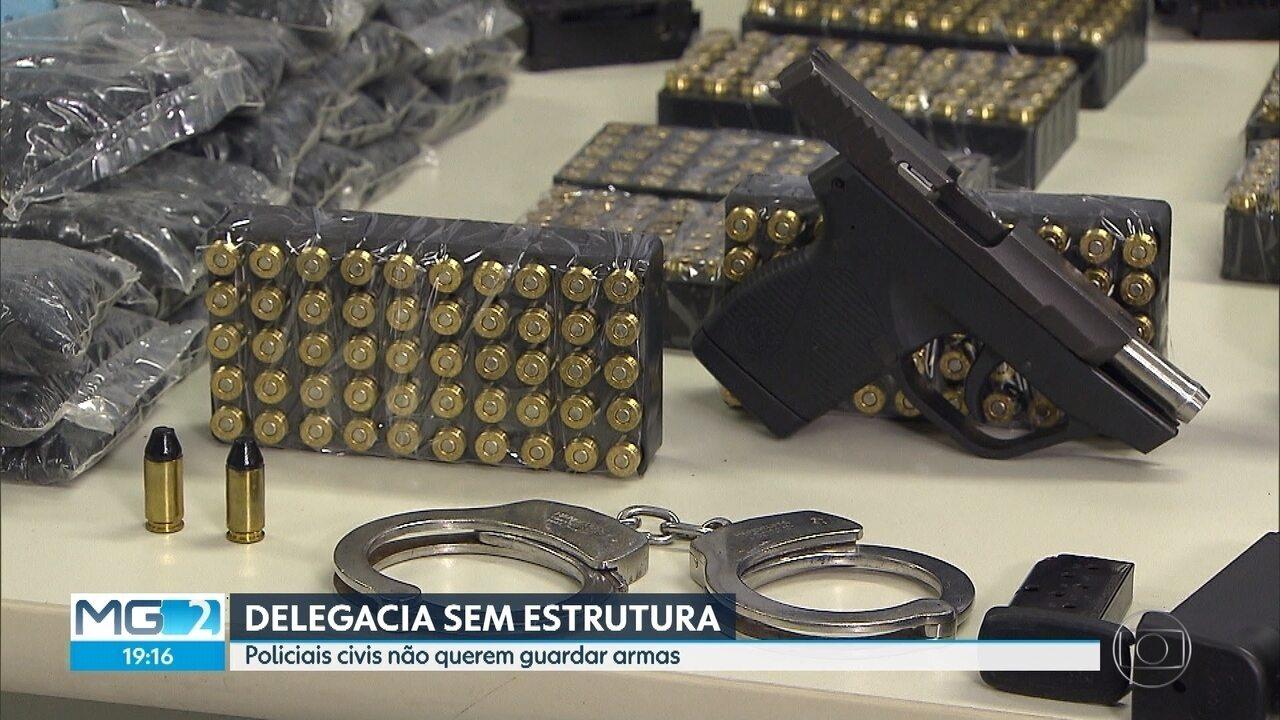 Justiça em MG não receberá mais armas de fogo e munição apreendidas pela polícia