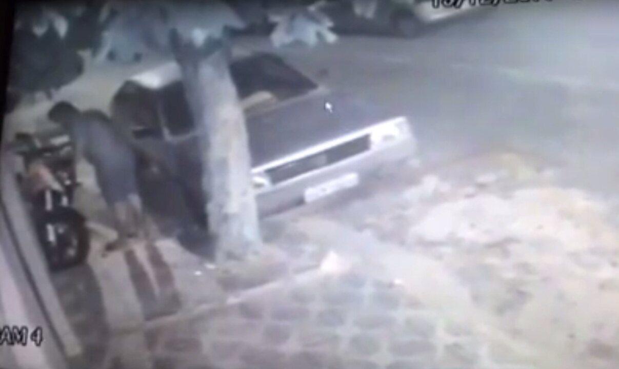 Vídeo mostra ação de quadrilha especializada em roubo de motos em Fortaleza