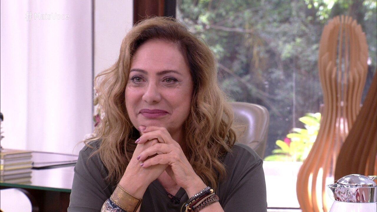 Eliane Giardini comenta cenas de Nádia em 'O Outro Lado do Paraíso'