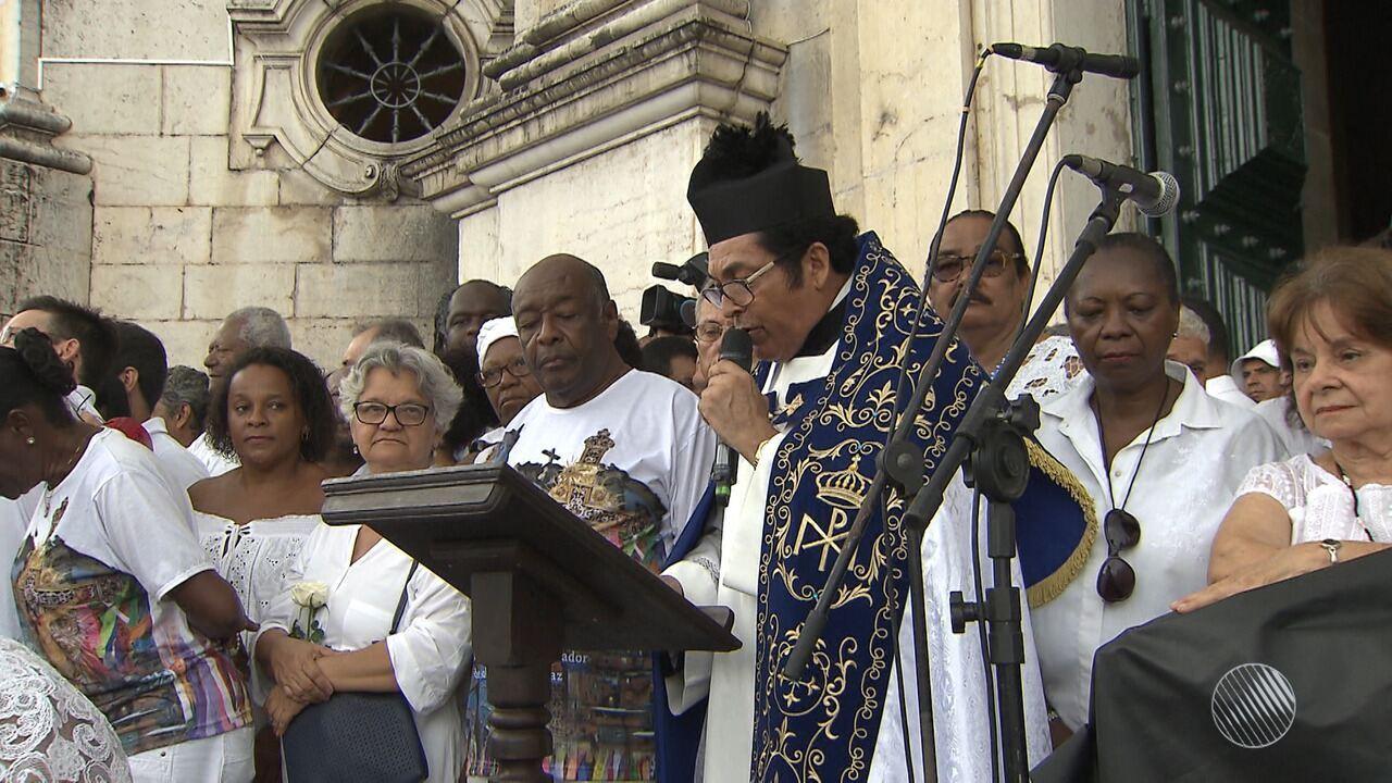 Lavagem do Bonfim: líderes religiosos e autoridades participam de ato ecumênico
