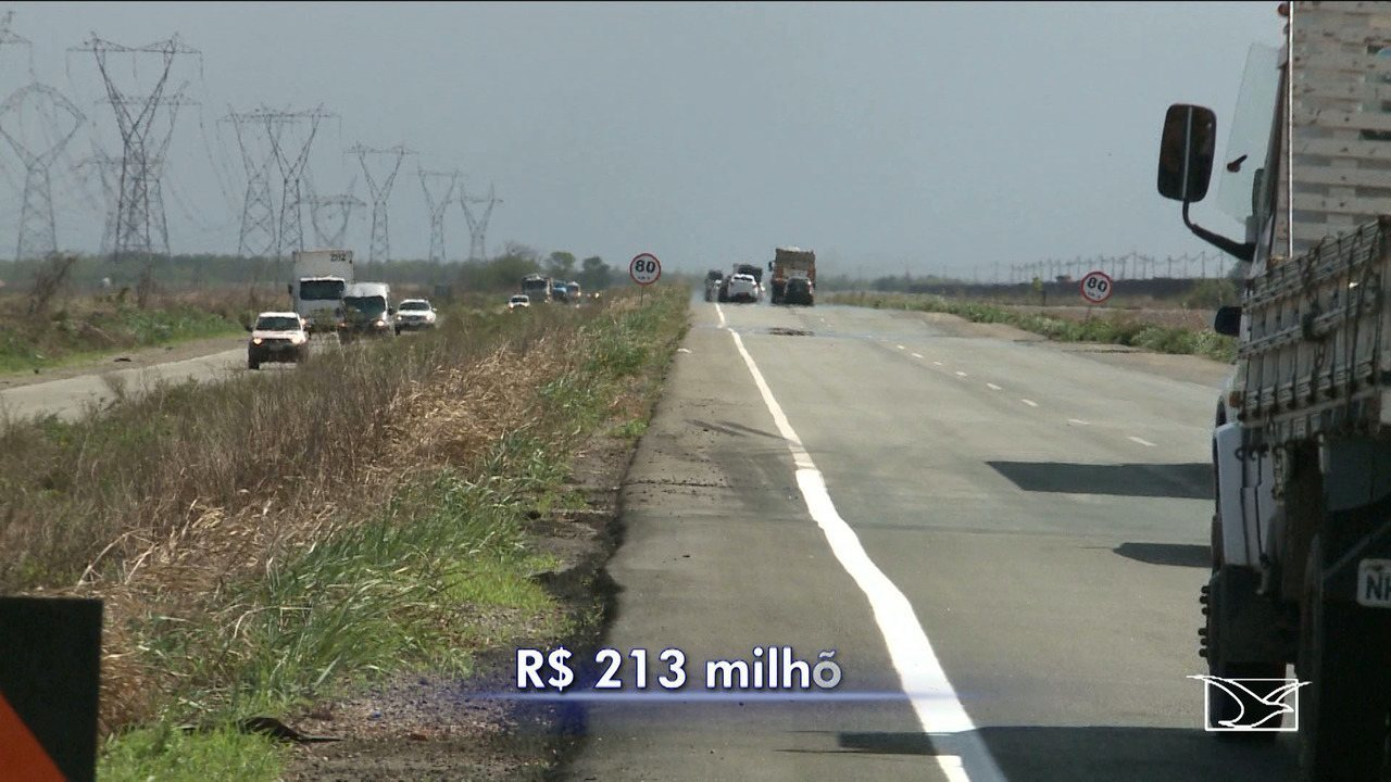 Duplicação de trecho da BR-135 é inaugurado no Maranhão