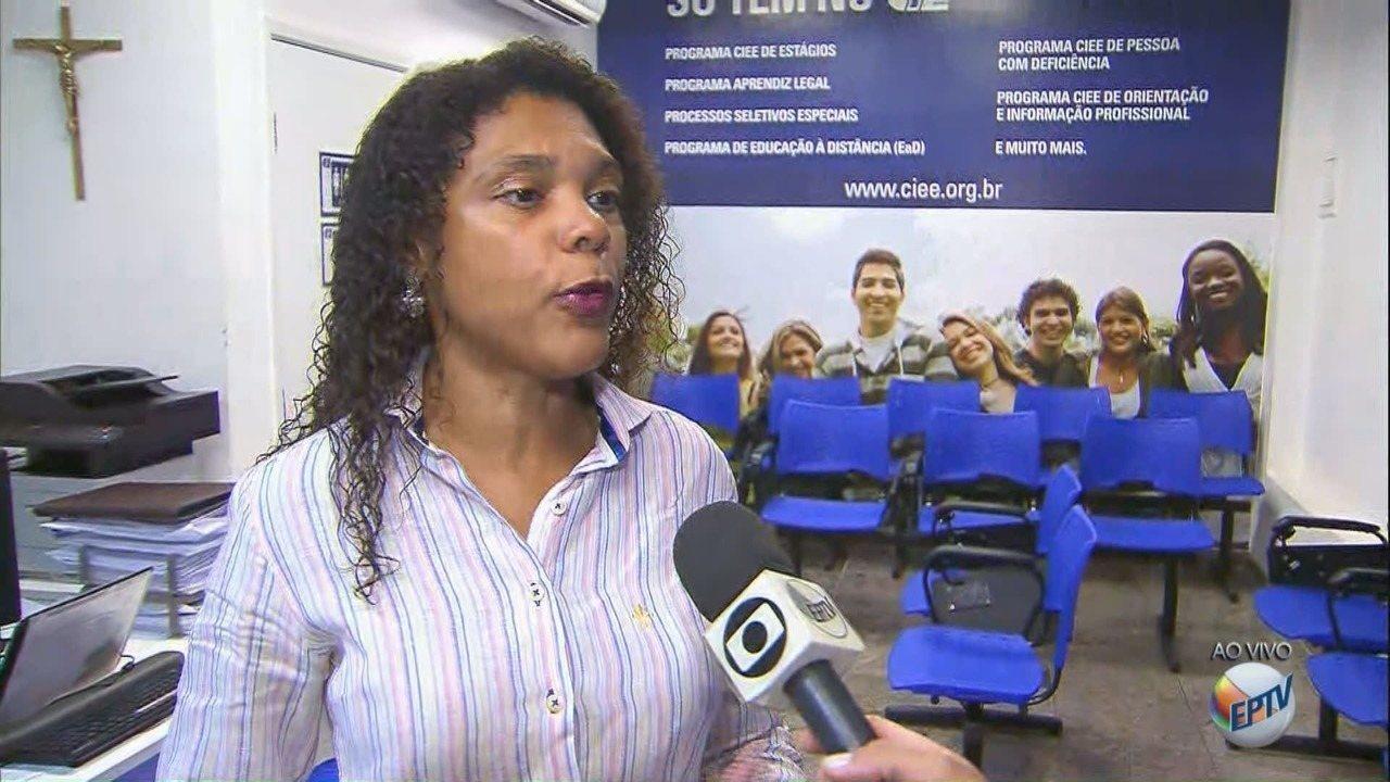 CIEE ainda tem vagas de estágio na região de Campinas para intermediar