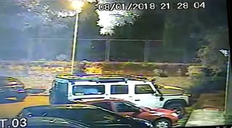 Novas imagens do suspeito de balear psicóloga na 408 Norte, no Distrito Federal