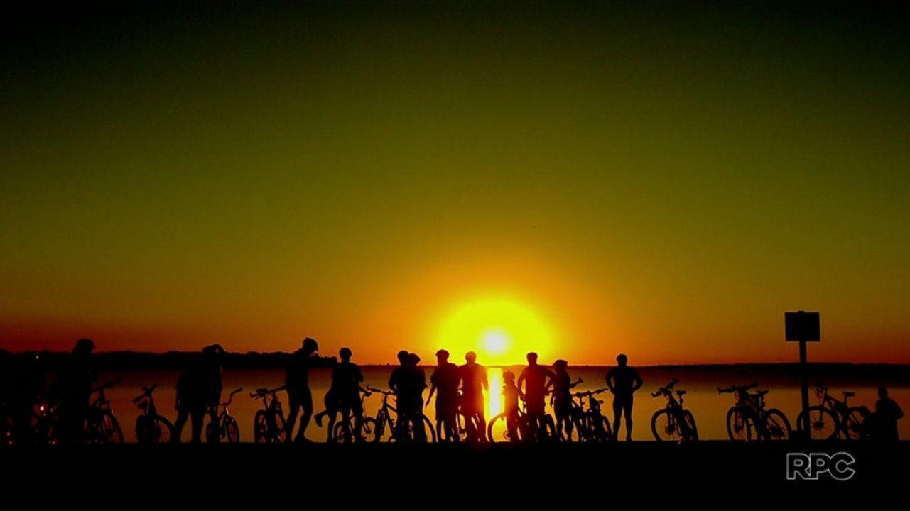 Conheça a turma que pedala em busca de saúde e belas paisagens