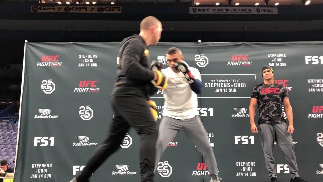 Vitor Belfort faz último treino aberto antes de despedida no UFC St Louis
