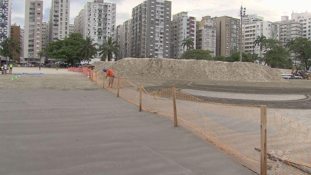 Justiça suspende obra do projeto piloto contra a erosão na Ponta da Praia