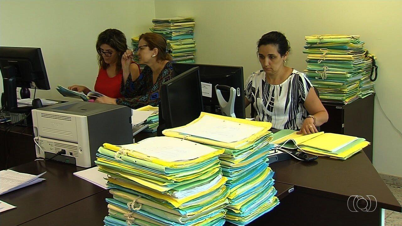 Justiça realiza mutirão para analisar 8,8 mil processos de presos em GO