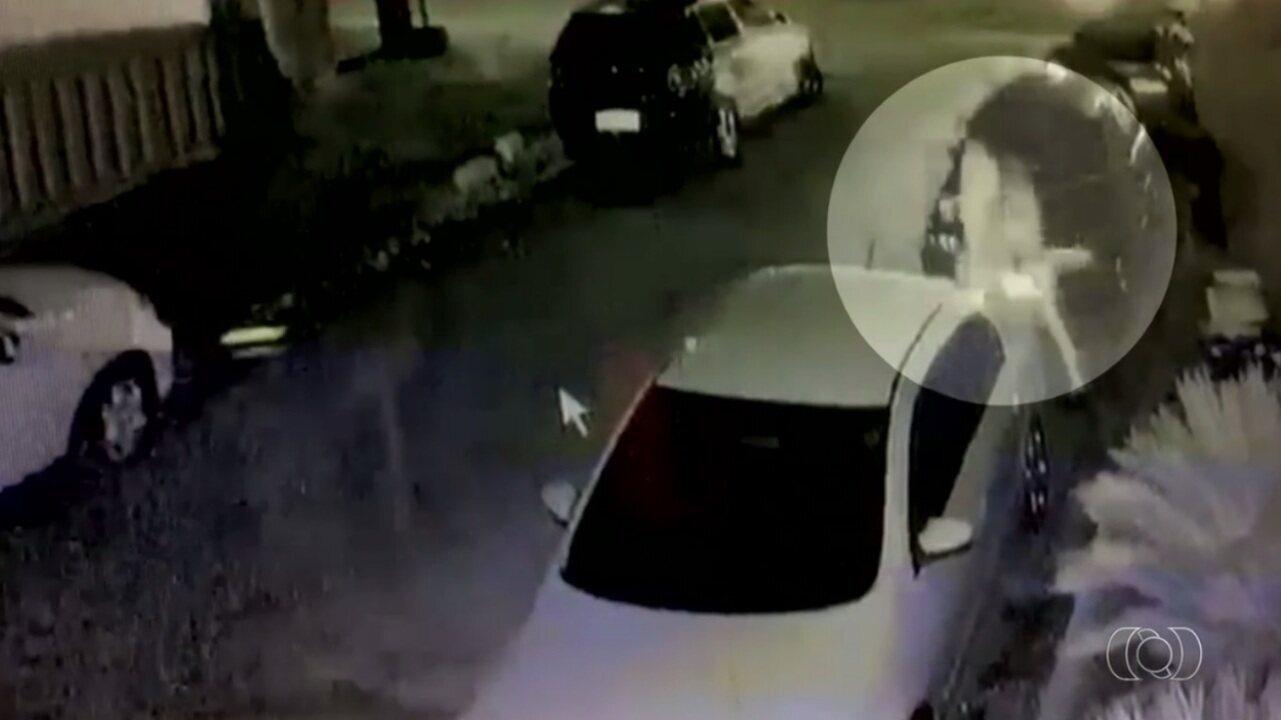 Vídeo mostra casal saindo de festa antes de ser morto a tiros em Goiânia