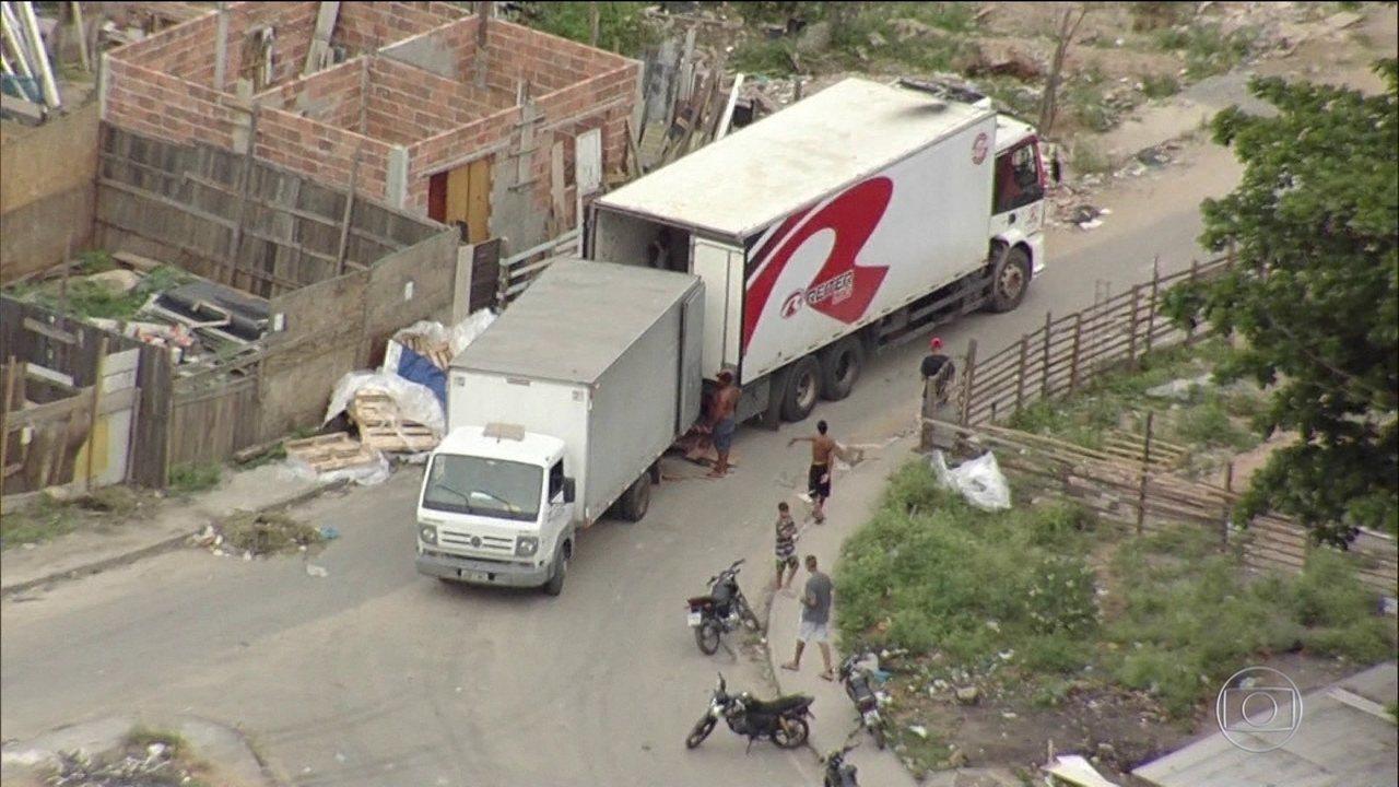 Prejuízo com roubo de cargas no RJ é de R$ 2 bilhões