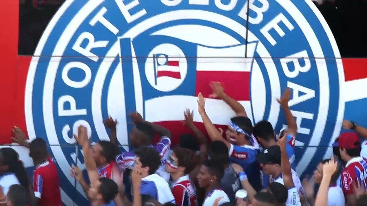 Bahia divulga vídeo promocional aos novos atletas
