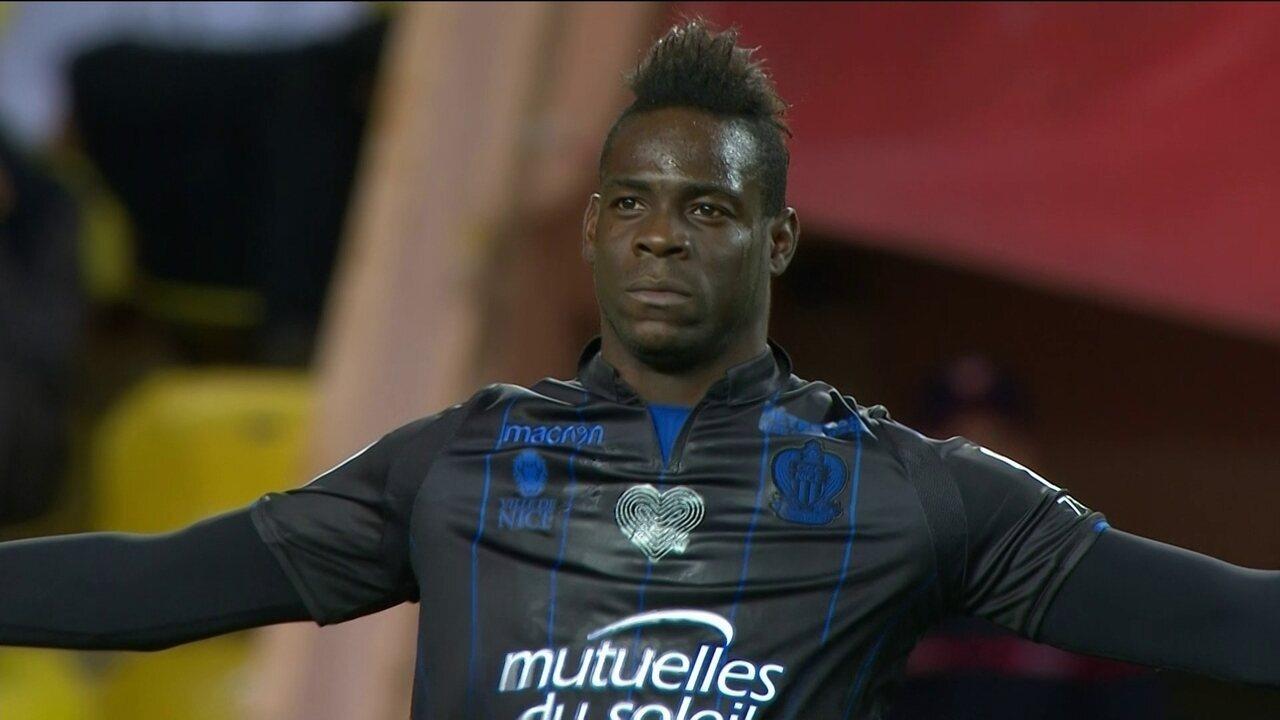 Os gols de Mônaco 2 x 2 Nice pelo Campeonato Francês