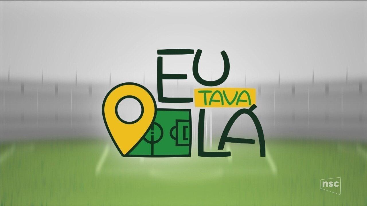 Participe da campanha 'Eu tava lá' do Globo Esporte SC