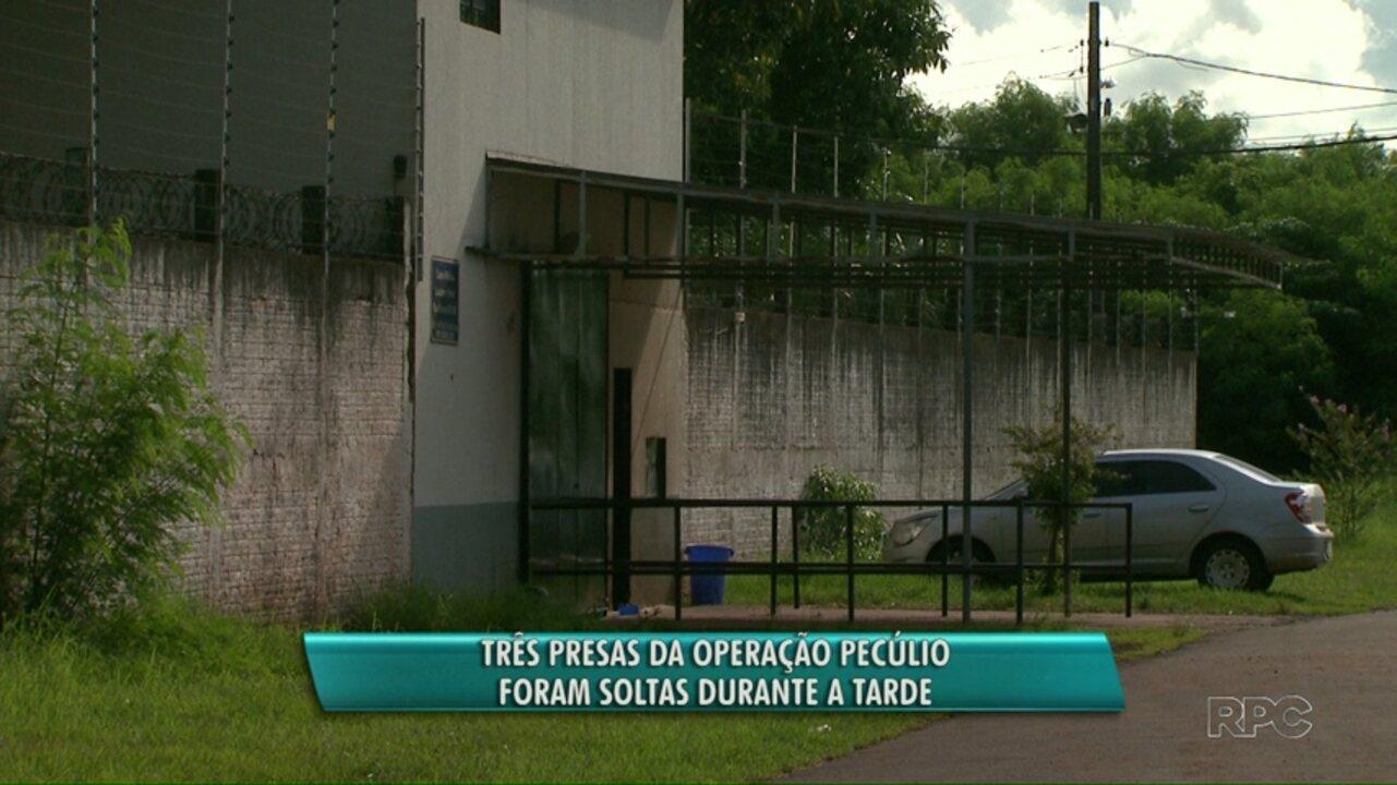 Três pessoas presas na oitava fase da operação Pecúlio são soltas