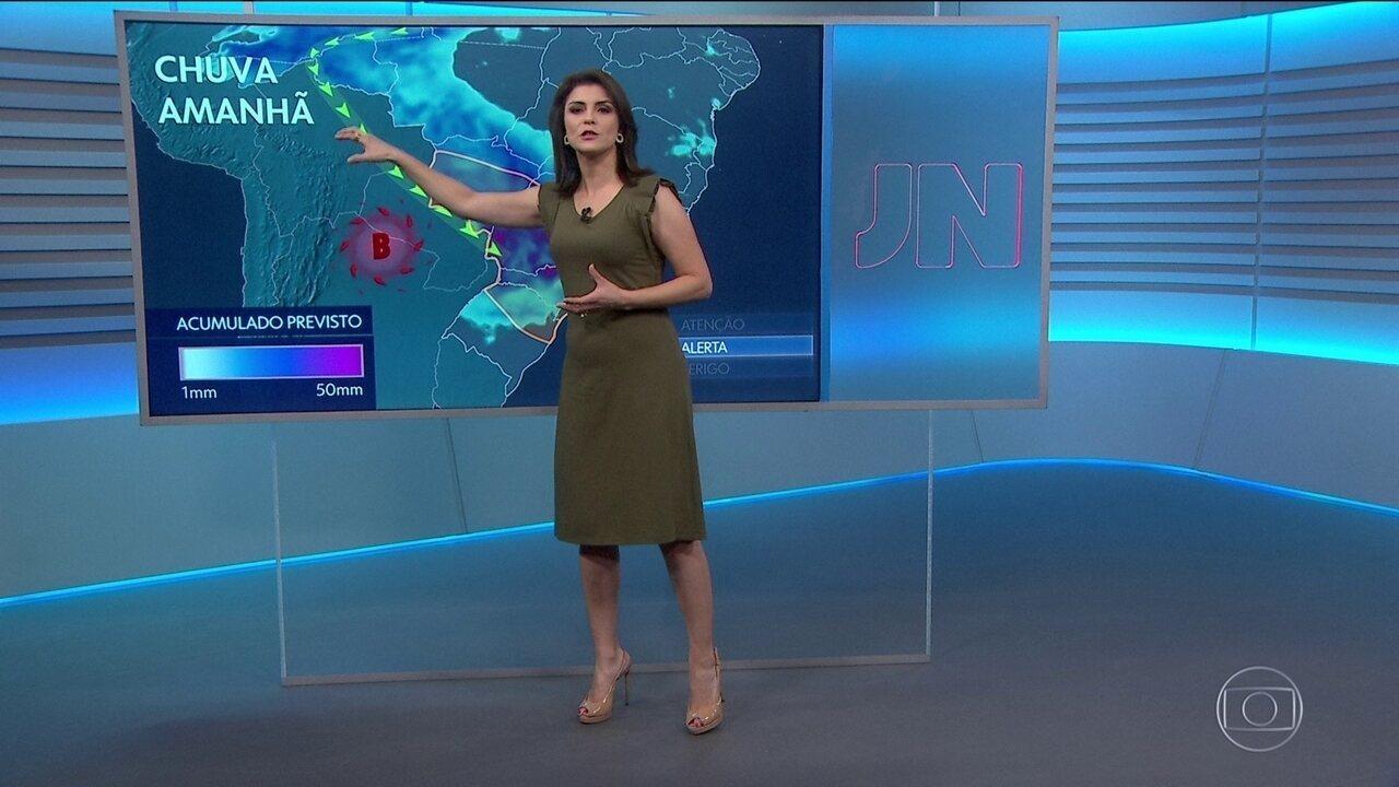 Confira a previsão do tempo para a quinta-feira (18) em todo o país