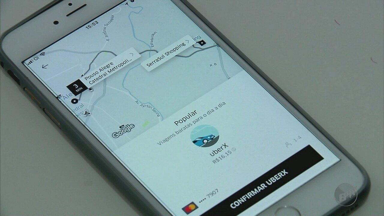Pouso Alegre passa a contar com serviço de transporte da Uber