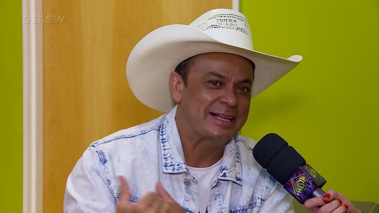 Frank Aguiar fala sobre a sua história no Domingão!