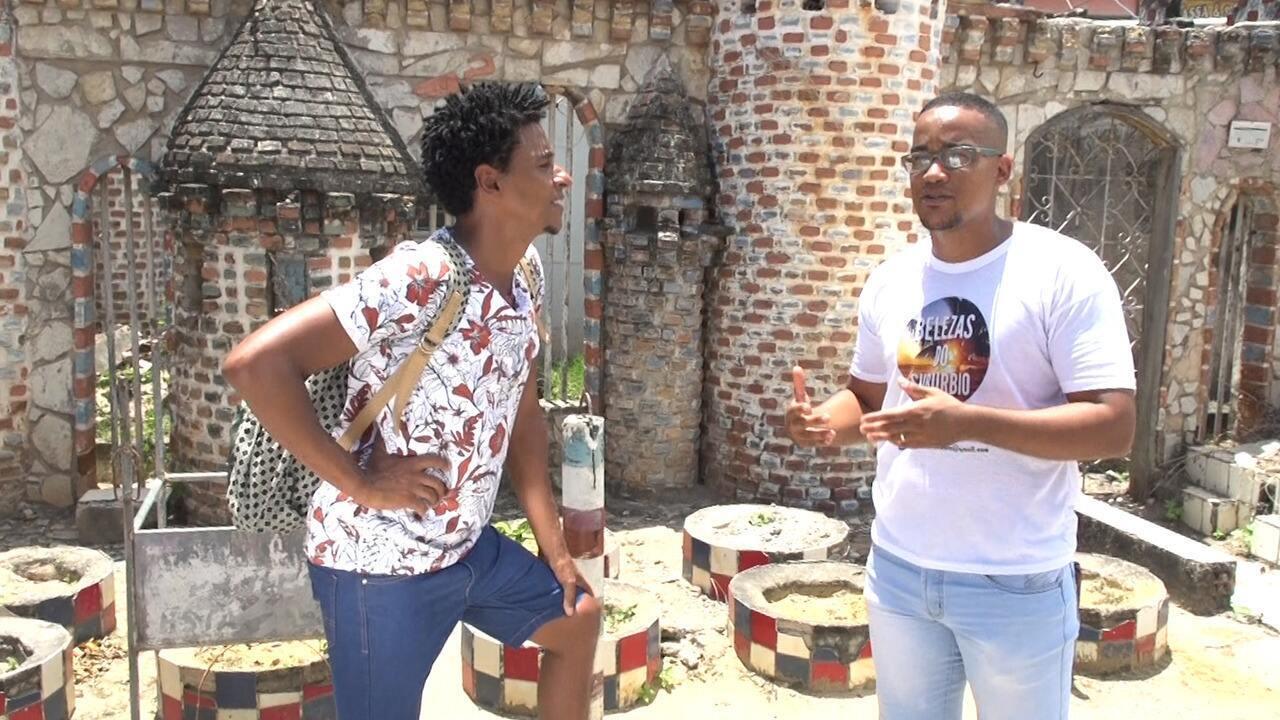 O 'Vumbora' vai até o bairro de Periperi com o morador Anderson Simplício