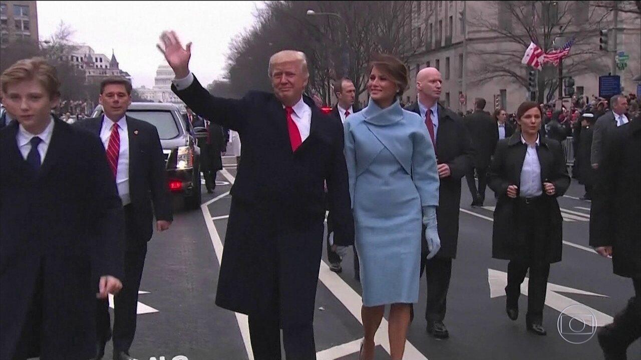 Com governo parado, Trump faz um ano como presidente dos EUA
