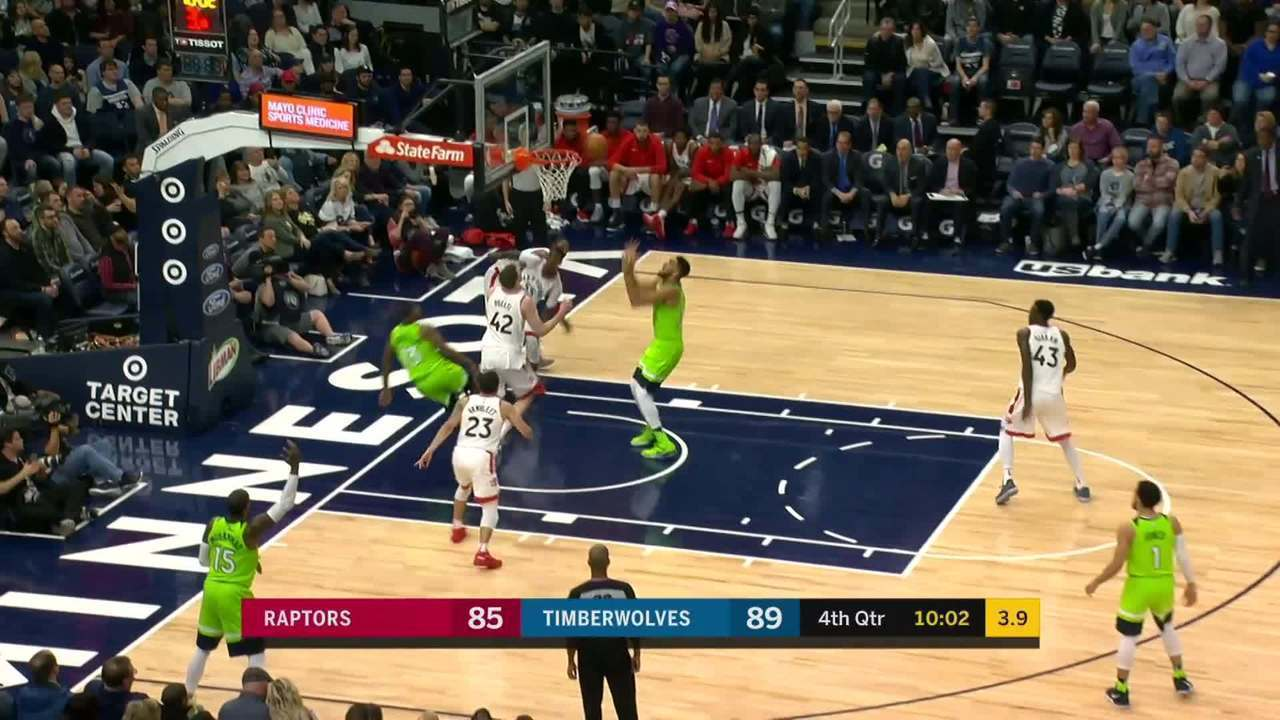 Melhores momentos de Minnesota Timberwolves 115 x 109 Toronto Raptors pela NBA