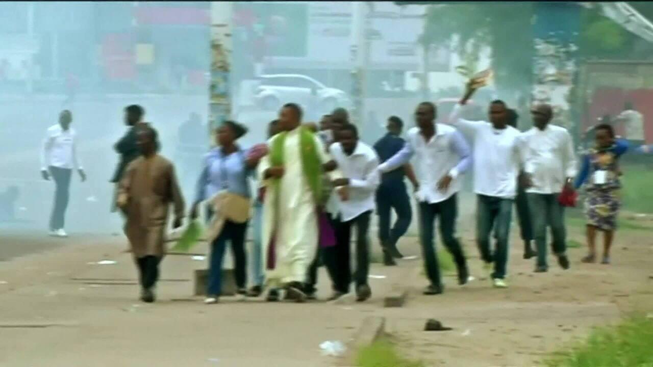 Seis pessoas são mortas por forças de segurança em protestos no Congo