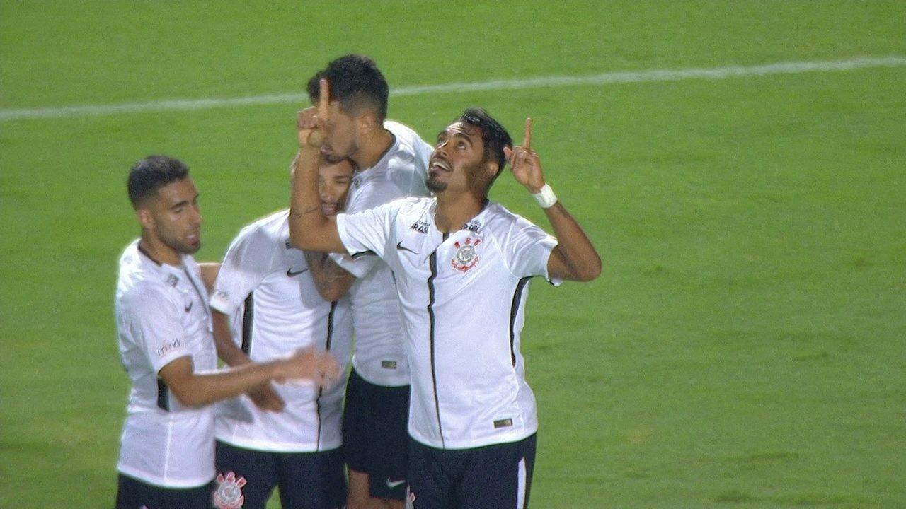 Os gols de São Caetano 0 x 4 Corinthians pela 2ª rodada do Campeonato Paulista