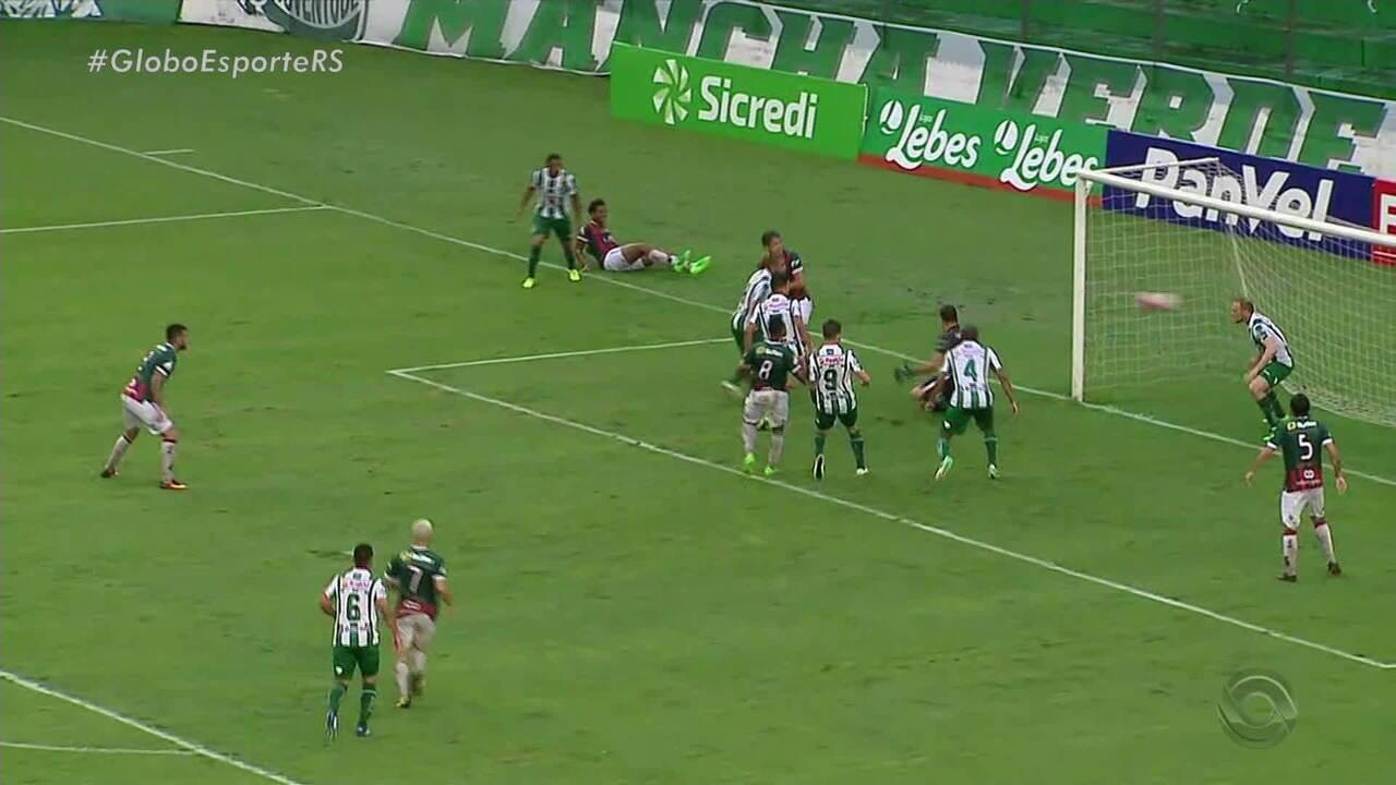Juventude vence São Paulo de Rio Grande por 3 a 1