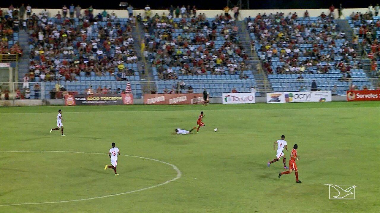 Primeiro jogo entre as equipes foi realizado na primeira rodada do Campeonato Maranhense