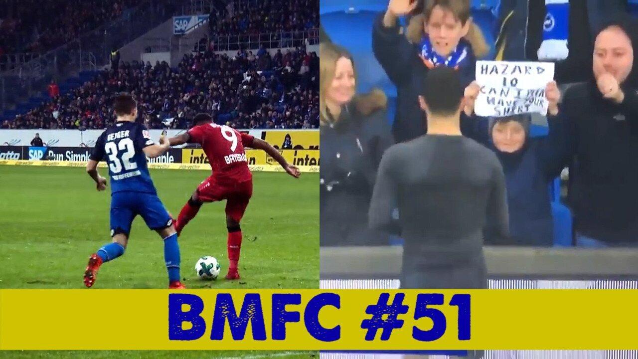 """BMFC #51: pintura de calcanhar, brilho de ex-flamenguistas e Hazard """"cuti cuti"""""""