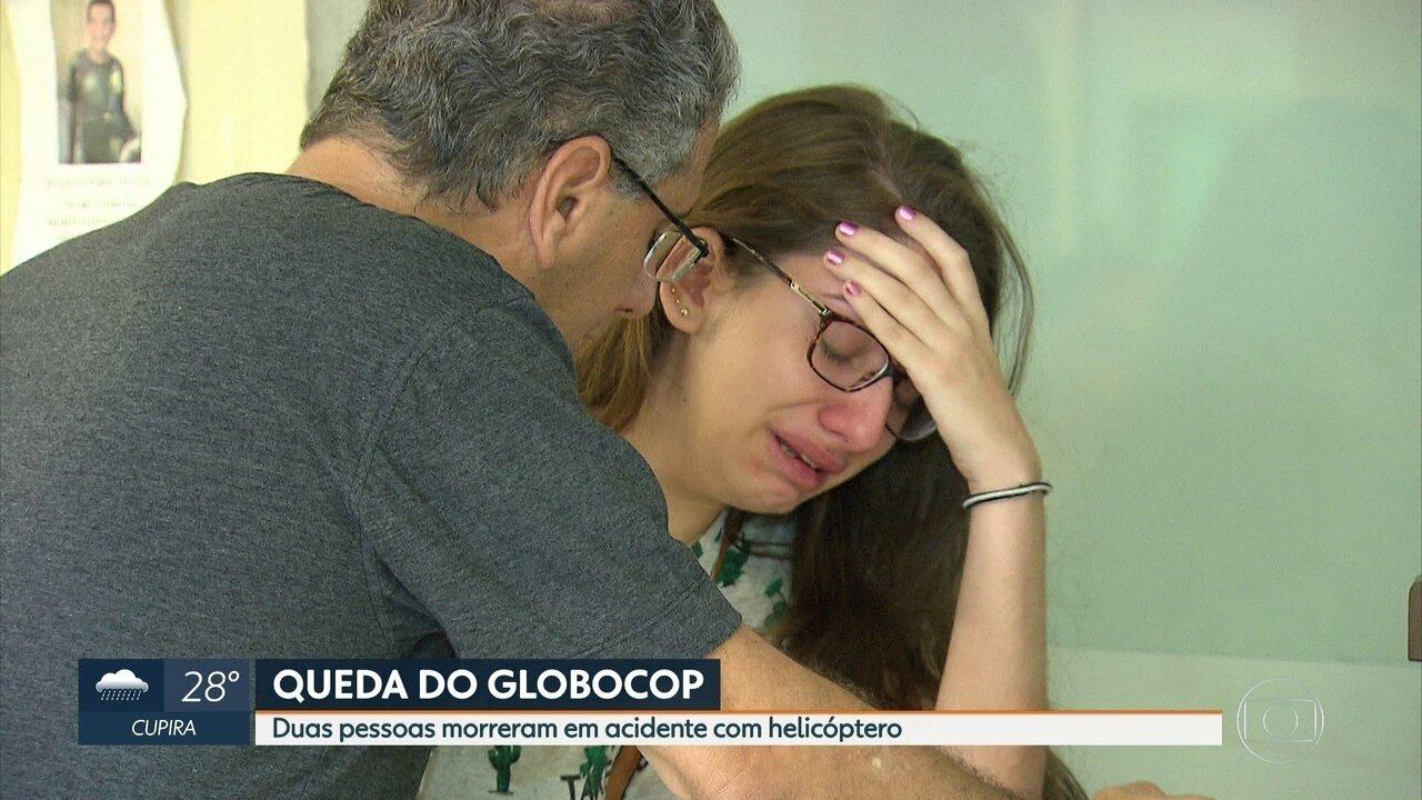 Estado de saúde de sobrevivente da queda do Globocop é grave