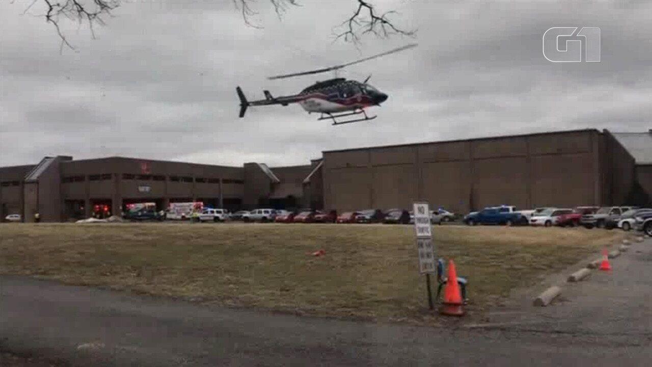 Tiroteio deixa vítimas em escola do Kentucky, nos Estados Unidos
