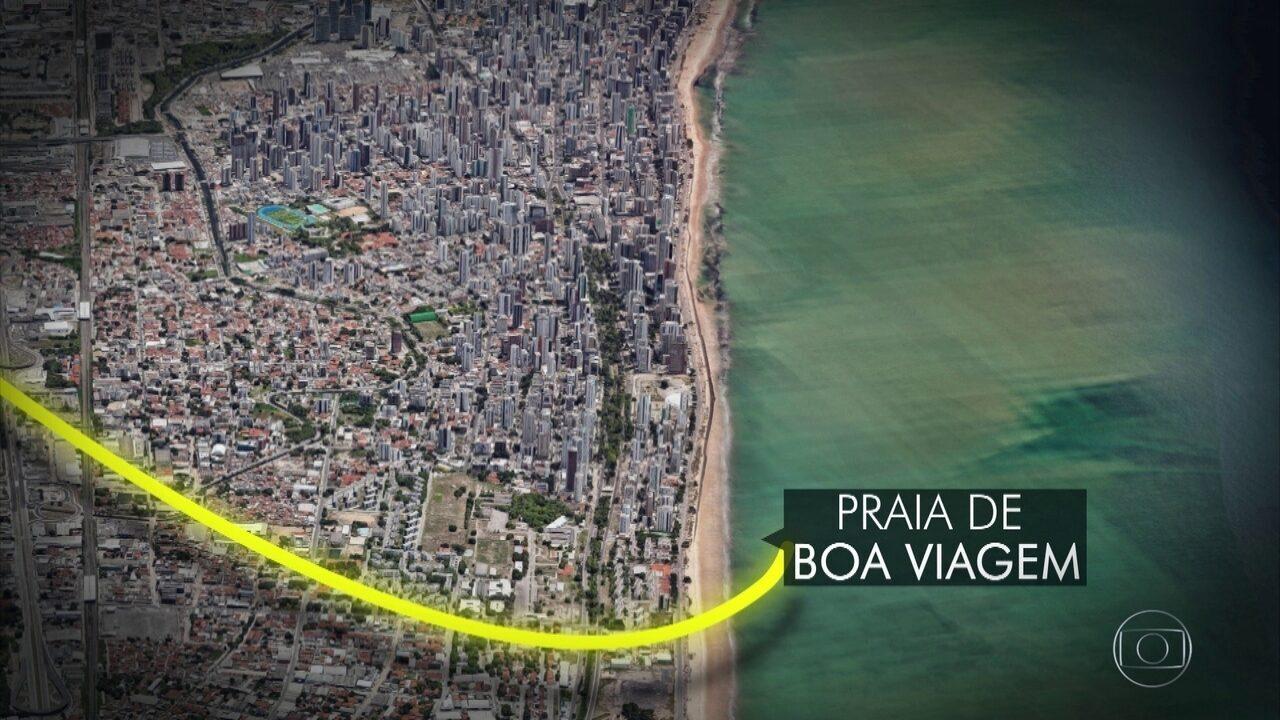Veja percurso feito pelo Globocop antes da queda
