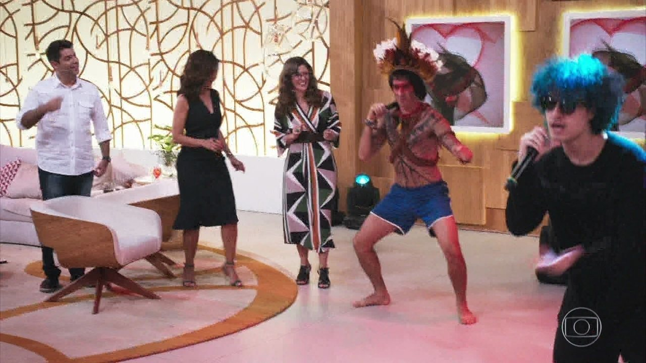 #TBT do 'Tá no Ar': Obirajara Dominique dança no Encontro com Fátima Bernardes IV