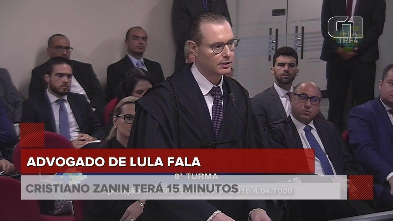 """""""Essa ação nasceu num powerpoint"""", diz advogado de defesa de Lula"""