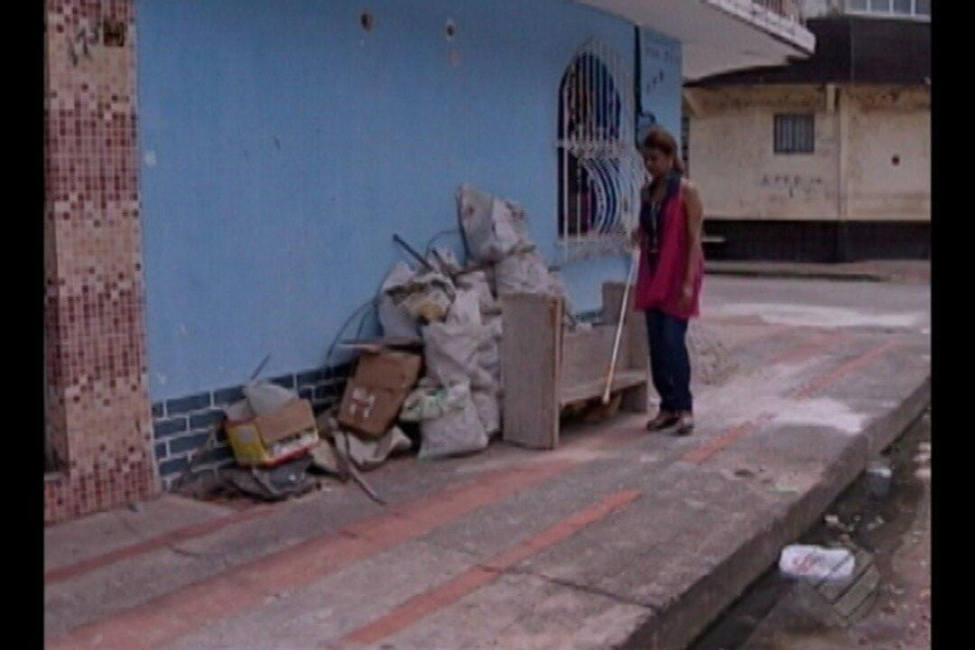 Resultado de imagem para Falta de acessibilidade nas calçadas de Belém prejudicam deficientes visuais e físicos