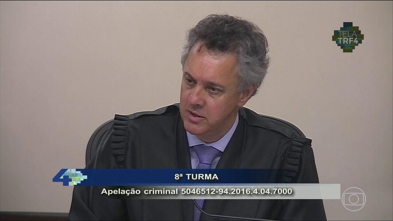 Gebran Neto vota pela condenação do ex-presidente Lula