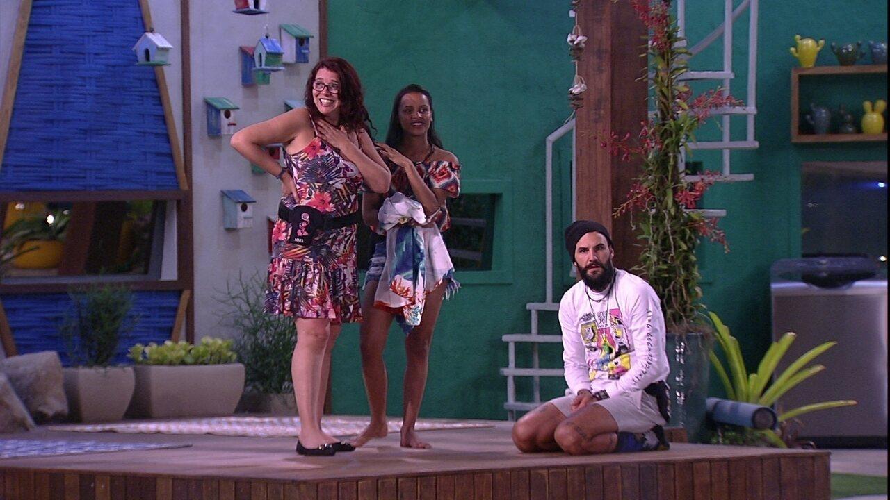 Mara avalia comportamento da família Lima: 'Querem deixar a gente inseguro'