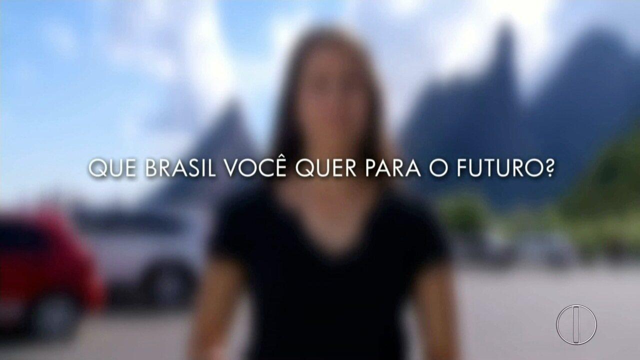 Que Brasil você quer para o futuro? Saiba como enviar o seu vídeo