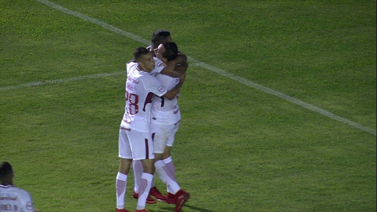 Damião dá bela assistência para Pottker marcar contra o Caxias