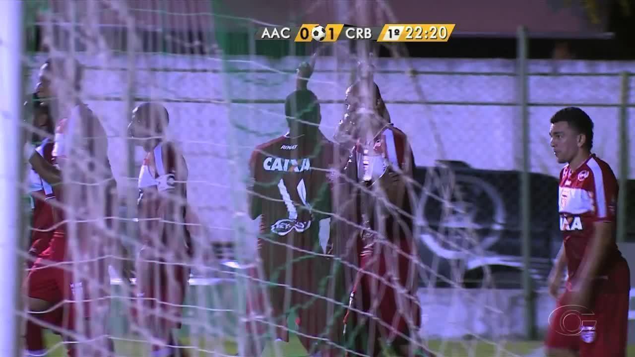 Confira os gols de Coruripe 1 X 2 CRB