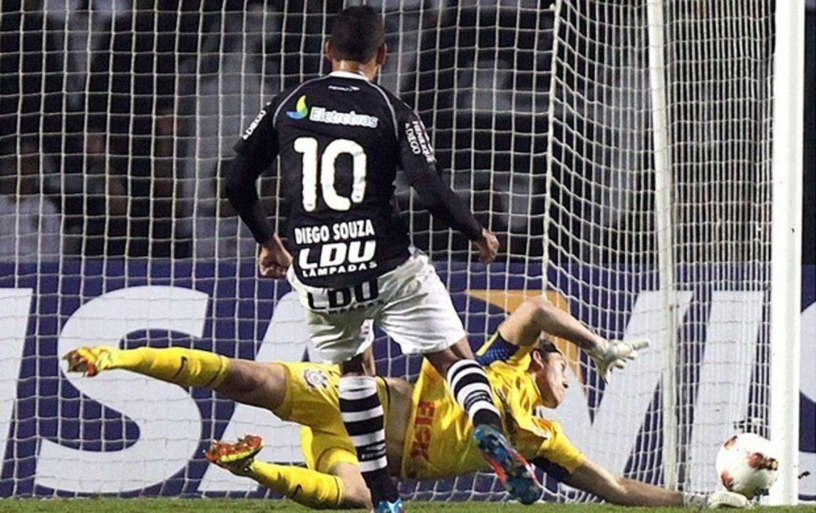 Cássio x Diego Souza: jogadores se reencontram em clássico pelo Campeonato Paulista