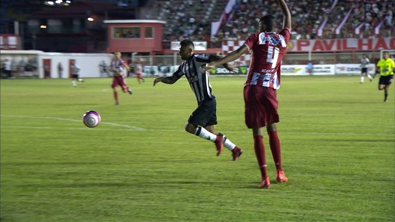 Melhores momentos de Villa Nova 1 x 0 Atlético-MG pelo Campeonato Mineiro